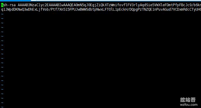 Oracle VPS主机保存好公钥